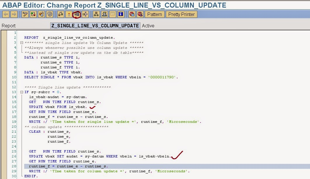 Binary search sorted table abap