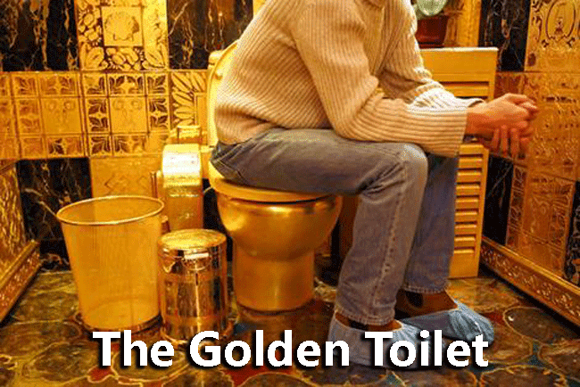 The Golden Toilet