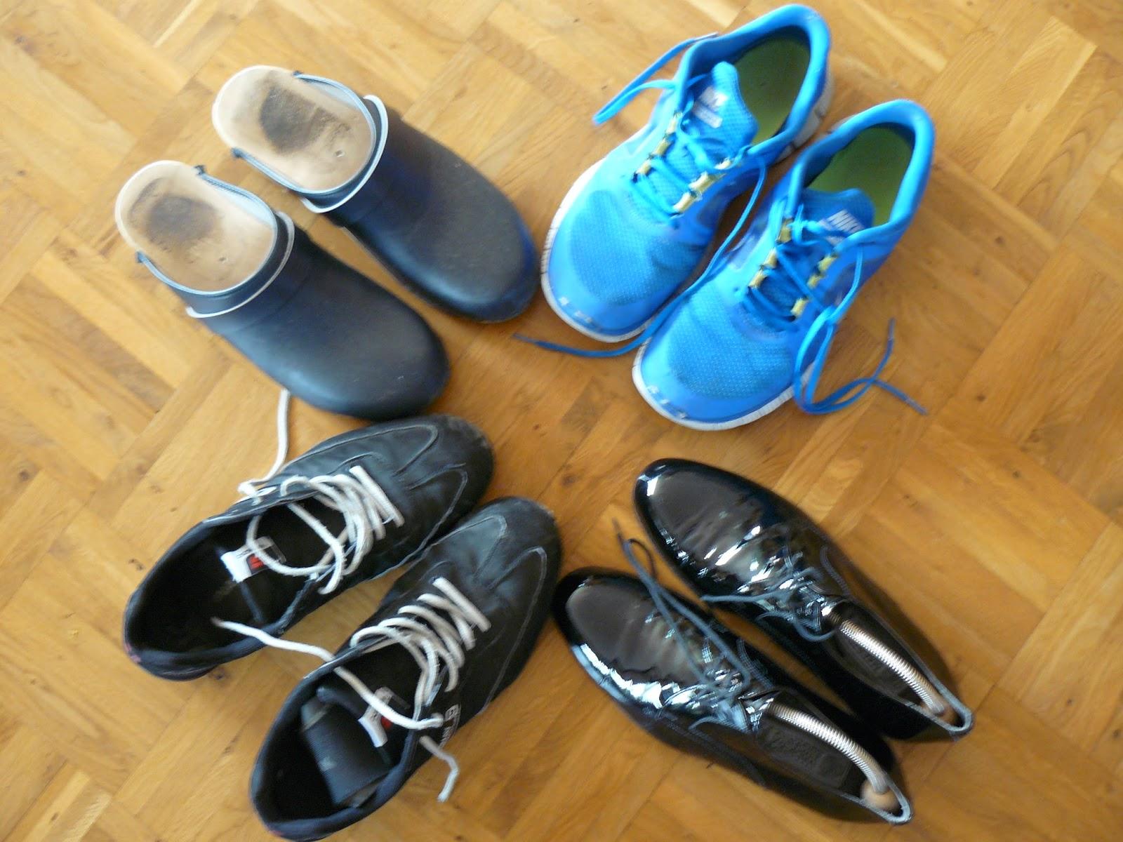 Schuhe polieren vor dem Auftritt, aber welche...