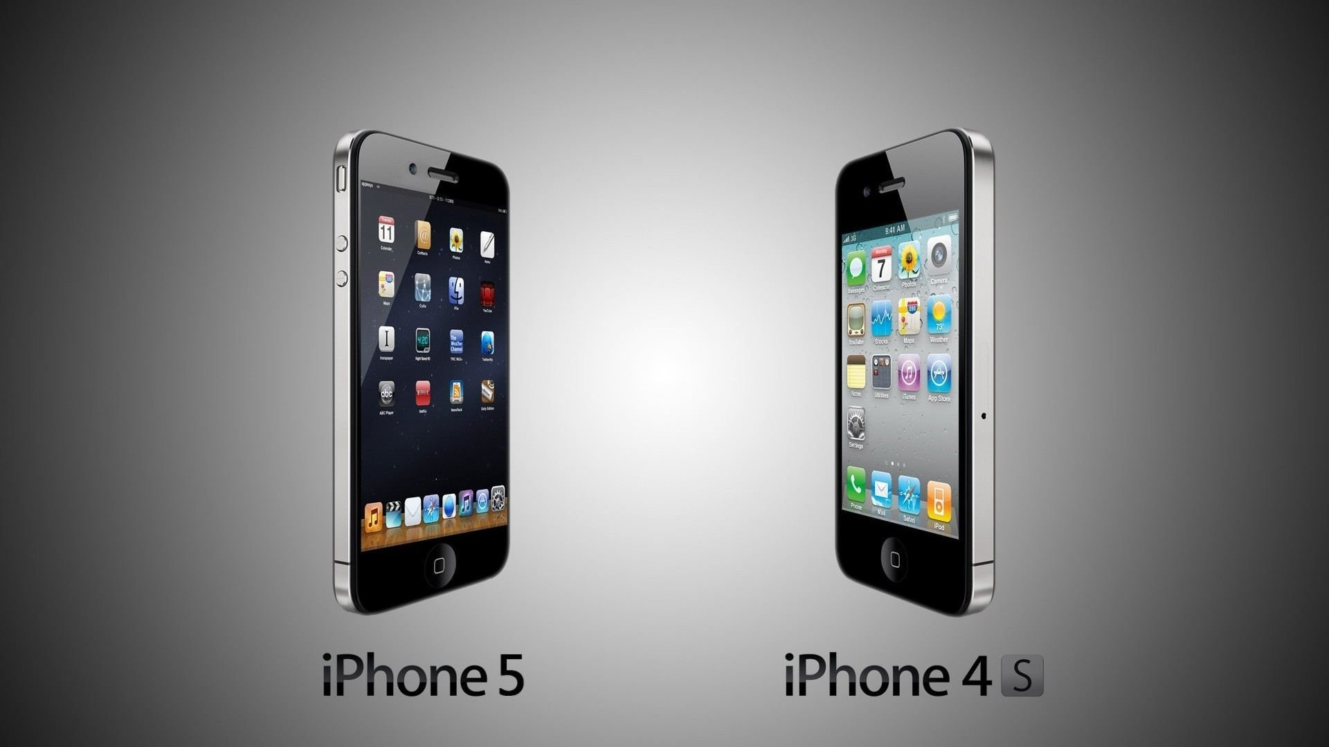 iphone 5 vs iphone 4s high definition wallpapers hd