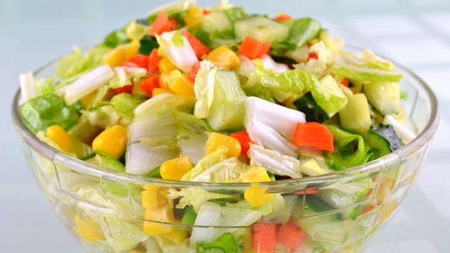 Салат овощной рецепт без майонеза