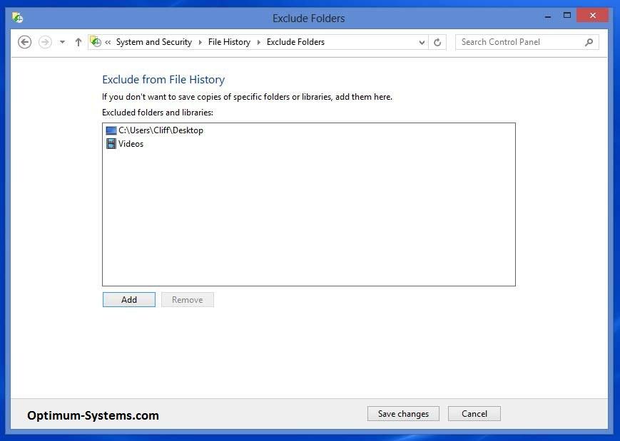 Backup Windows 8 Backup Data
