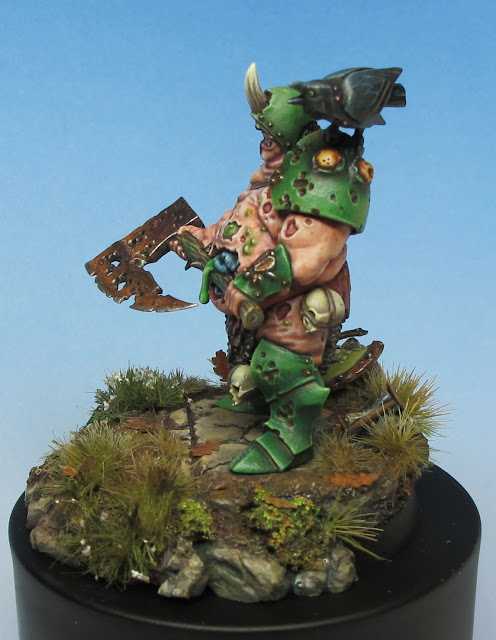 Nurgle Lord Conversion Painted 3