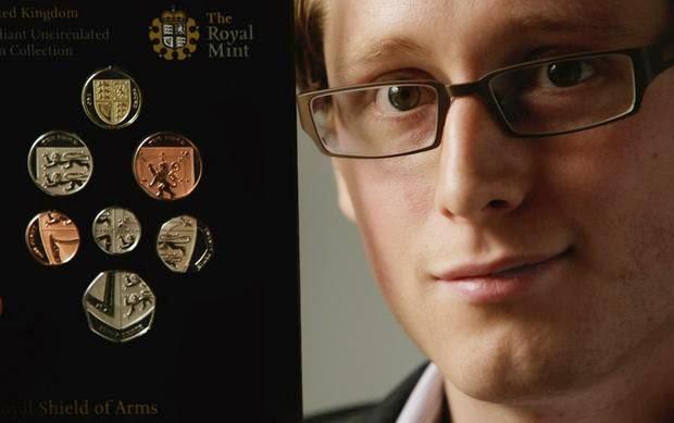 New Year 2015, British make new coins