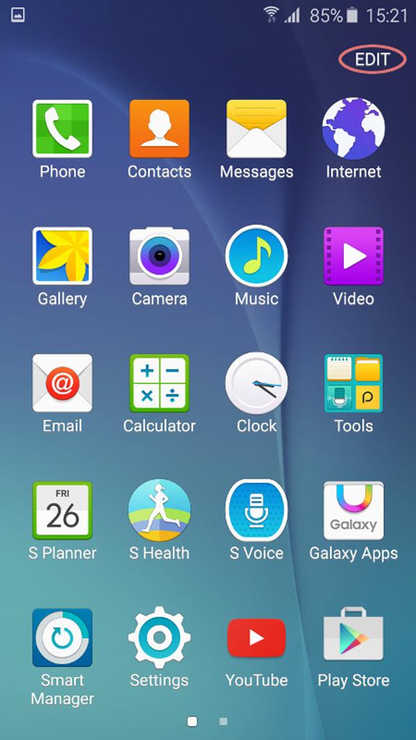 Samsung Galaxy S6 Edge xách tay Nhật Bản