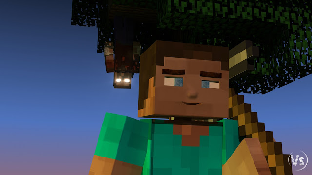 Minecraft Herobrine Vs Steve Wallpaper Minecraft steve vs herobrine