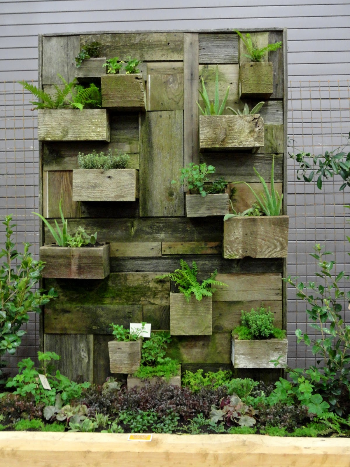 Reclaimed Wood Planter Diy Craft Ideas Pinterest