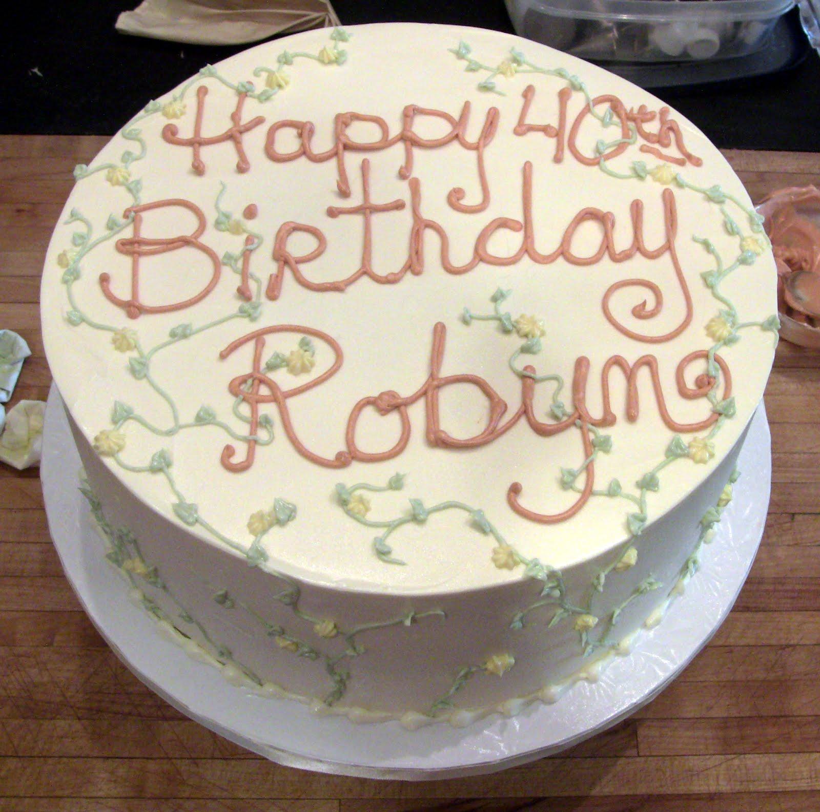 Robyn Cakes By Rachel