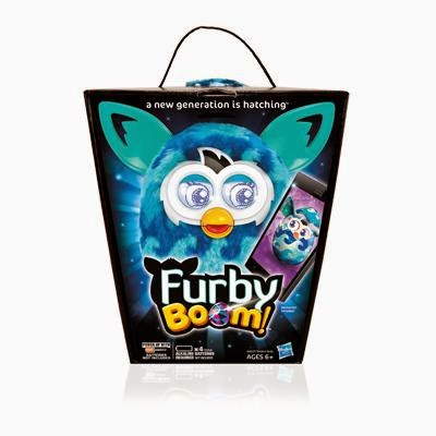 novità Furby Boom 2014 App interattiva Natale Hasbro prezzo pubblico caratteristiche giocattolo
