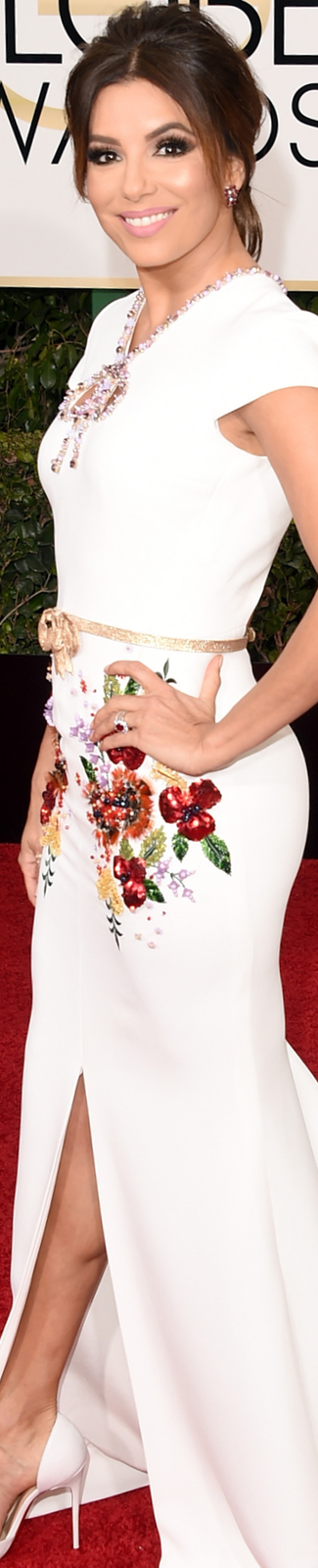 Eva Longoria 2016 Golden Globe Awards