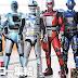 Chaves de Metal Heroes em Super Hero Taisen Z