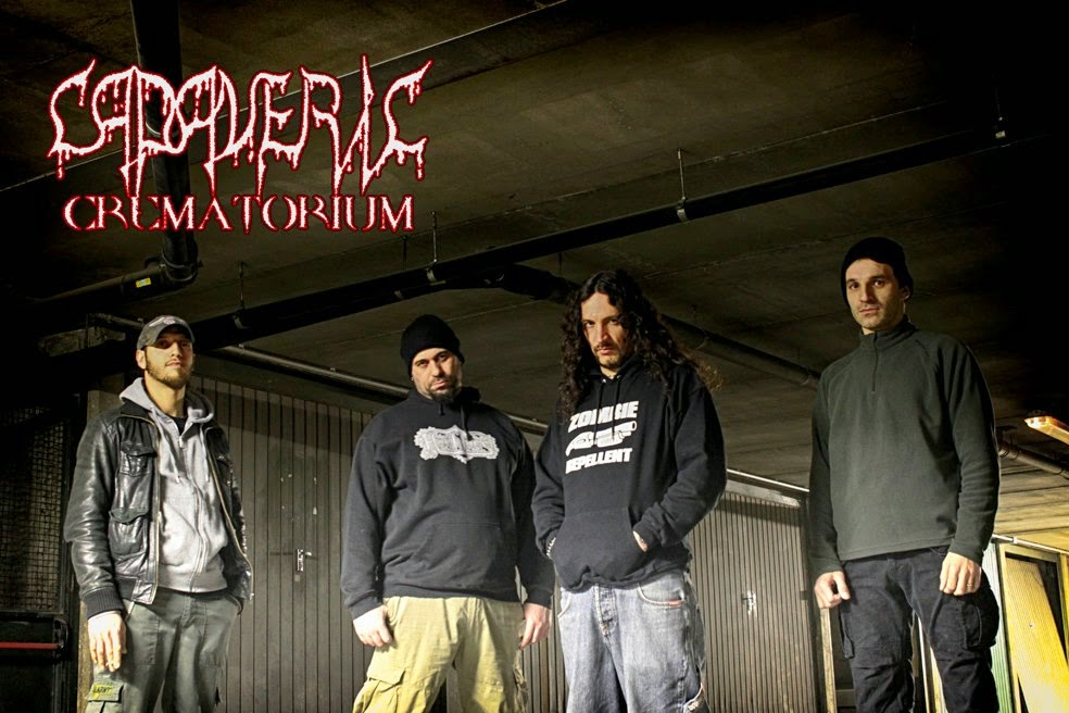 Cadaveric Crematorium-'They're back' videoclip