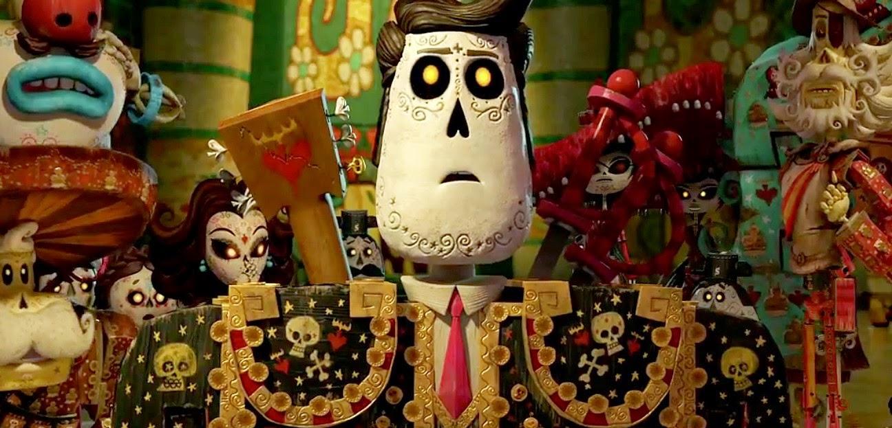 Festa no Céu | Segundo trailer da animação produzida por Guillermo del Toro; com as vozes de Channing Tatum e Zoe Saldana