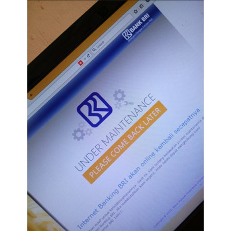 Tampilan Baru Website Internet Banking BRI