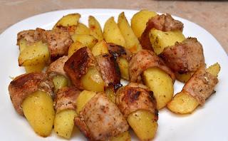Дуэт картофеля и бекона