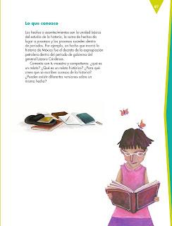 Apoyo Primaria Español 6to Grado Bloque III Lección 7 Escribir un relato histórico para el acervo de la Biblioteca de Aula