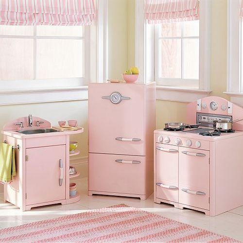 Thrift shop commando pink saturday reprise - Pink kitchen cabinets ...