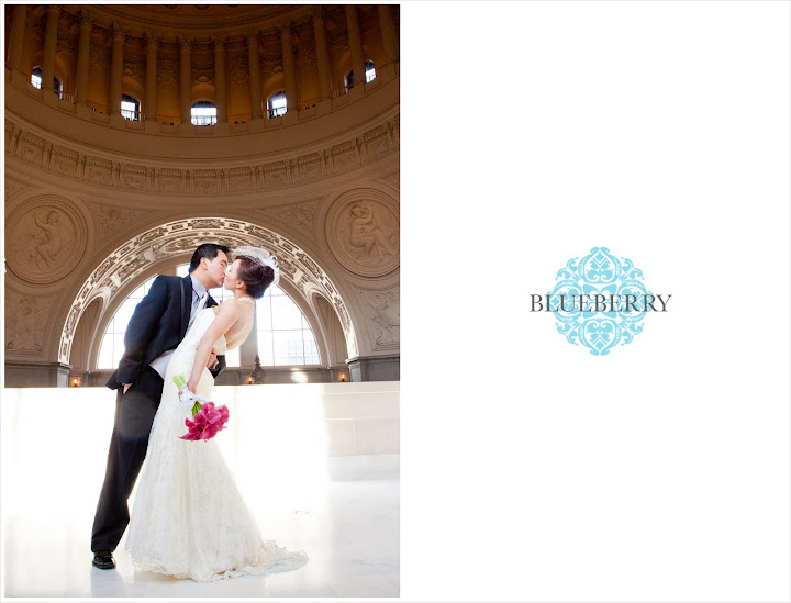 Berkeley San Francisco City Hall Rotunda Wedding Photographs