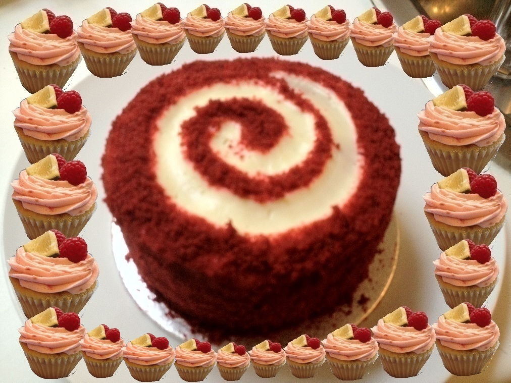 Little F: Ravishing Red Velvet Cake by Lola's Kitchen