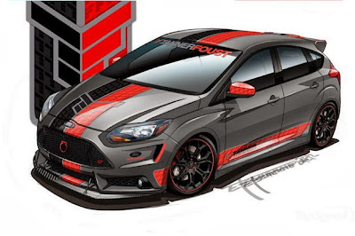 Modified Ford Focus ST, Ghost Street