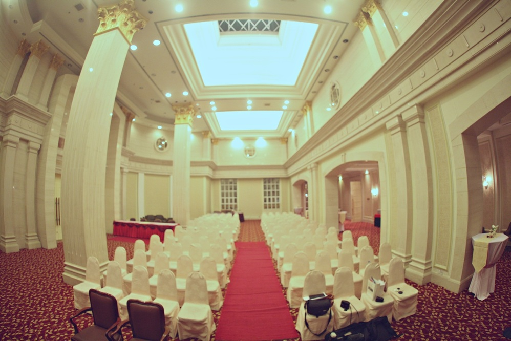 The majestic avillion legacy melaka indoor wedding ceremony church junglespirit