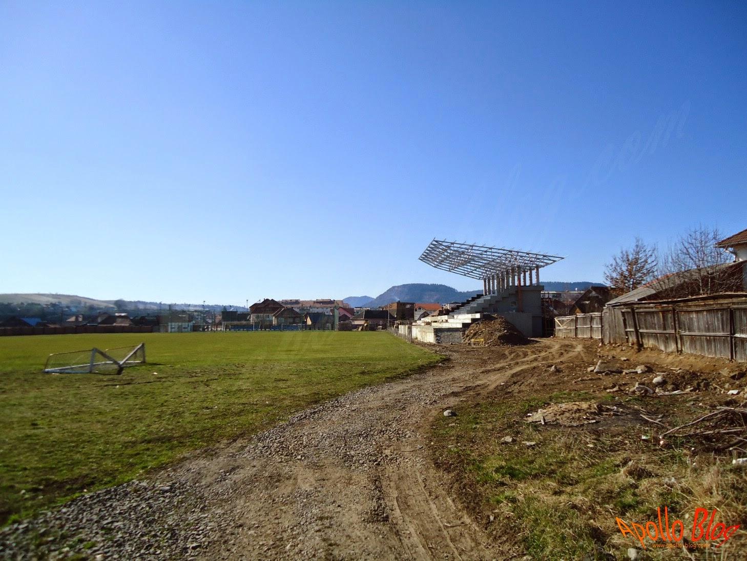 Tribuna Stadion Toplita
