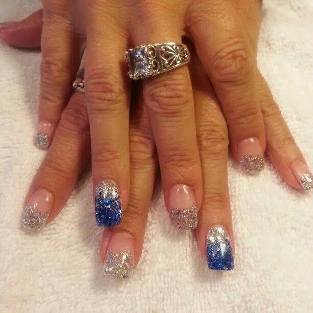 gel nails. Today was a sculpted set of silver haze with bluesilver haze feats LED-polish-manicure-OPI-Nail-Polish-Lacquer-Pedicure-care-natural-healthcare-Gel-Nail-Polish-beauty-Acrylic-Nails-Nail-Art-USA-UK