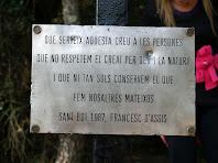Inscripció a la Creu petita d'en Querol