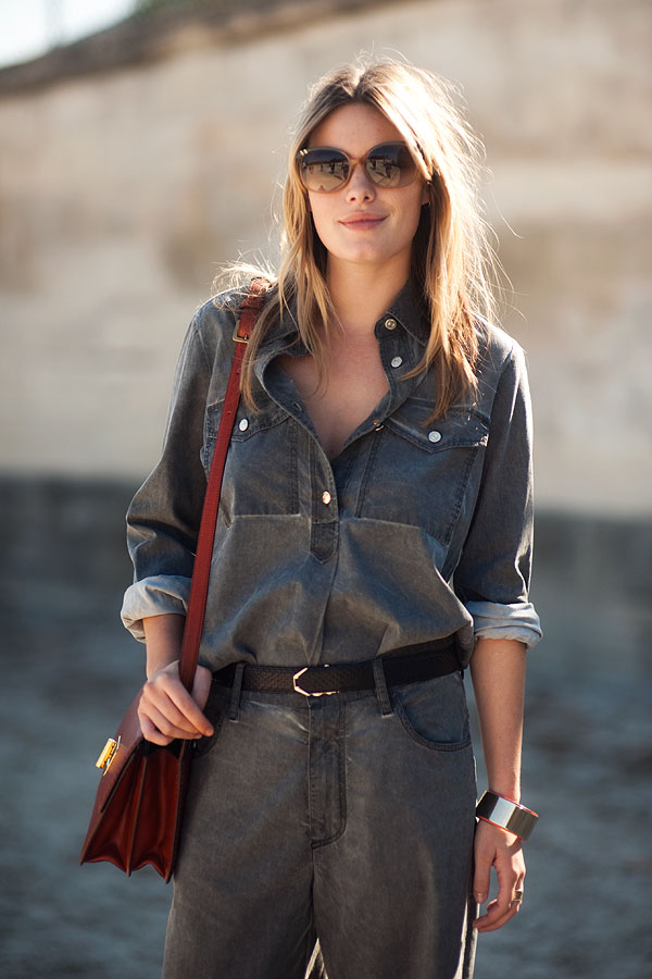 Paris Fashion Week SS 2012...Camille