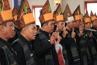 Pengucapan Sumpah- Janji 50 Anggota DPRD Simalungun Periode 2019-2024