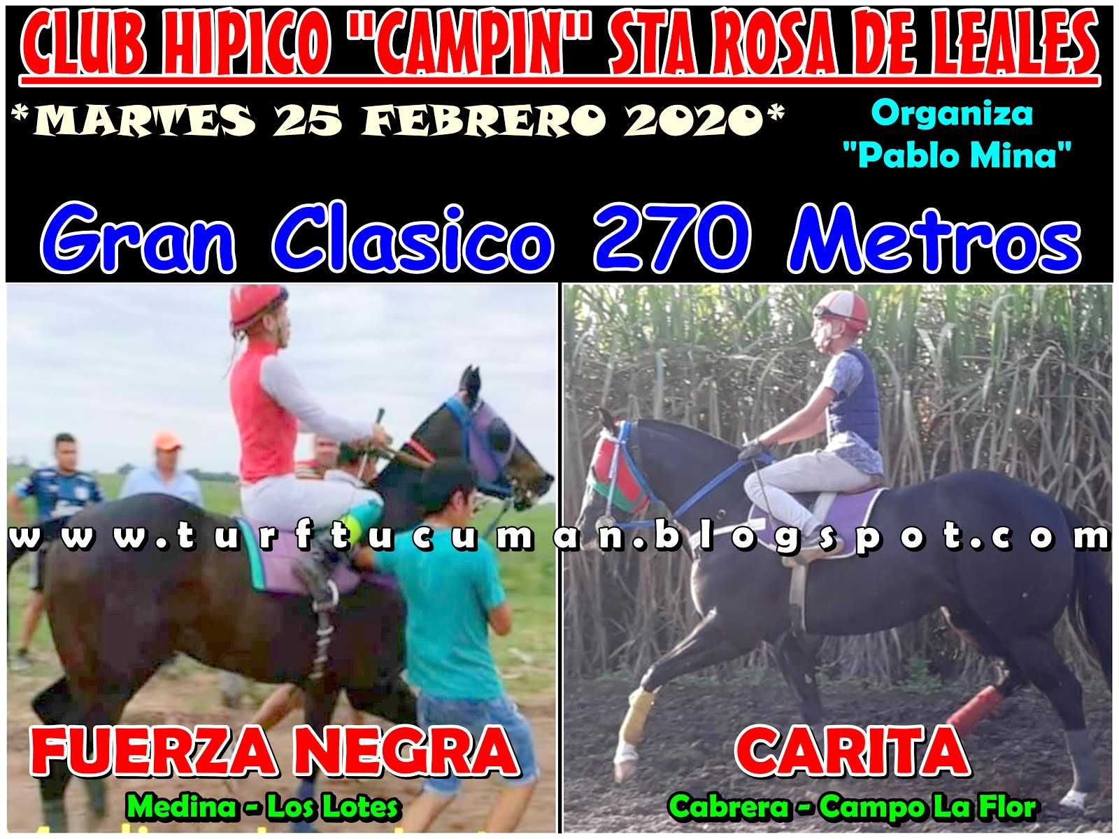 FUERZA VS CARITA