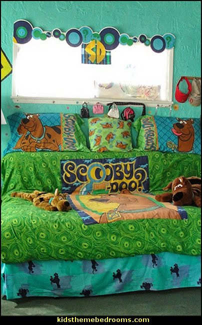 Decorating Theme Bedrooms Maries Manor Scooby Doo