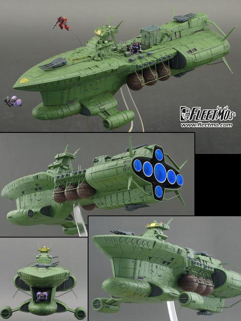 Zeon Fleet UC 0079 Scratch Build Series