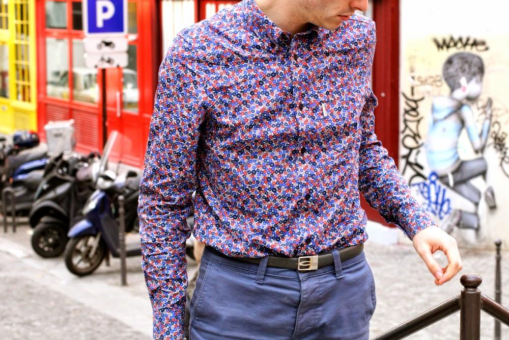 Hoalen-Mariner-Blouson-Ben-Sherman-Chemise-motif-Chino-Bleu-Cardigan-merinos-Chaussures-hybrides-_BLOG-MODE-HOMME-preppy-Style-Mensfashion1