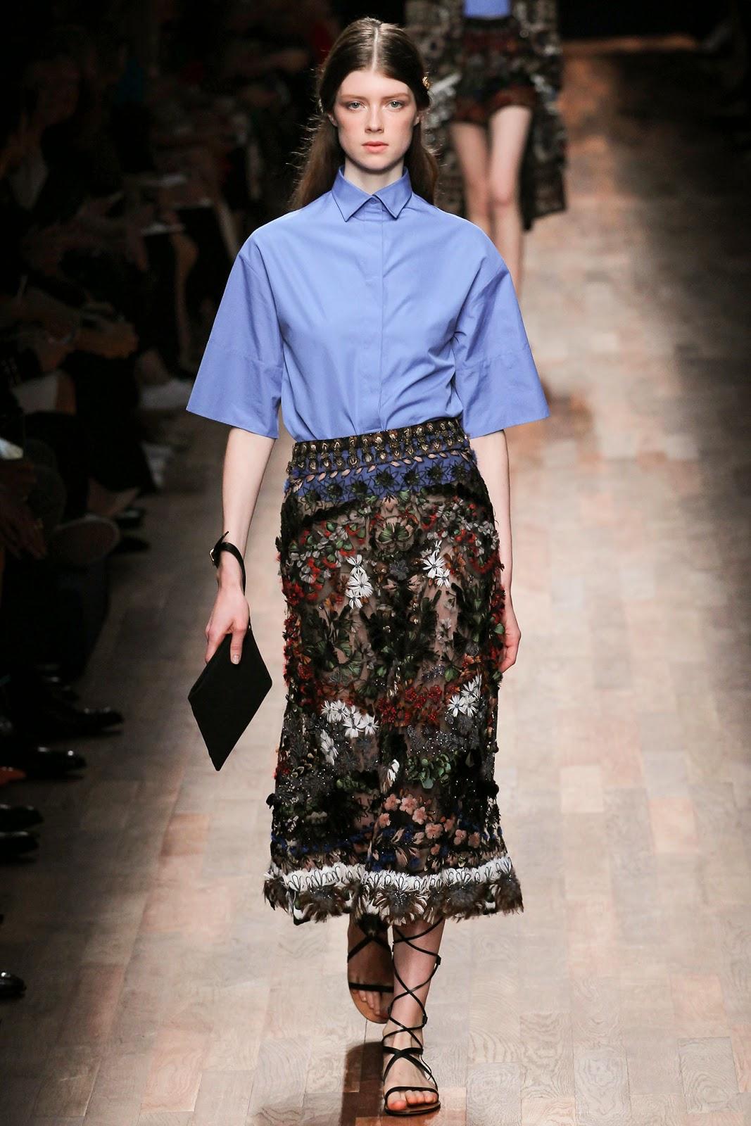 valentino 2015 summer 2016 trend women dress27 Valentino 2015 samling, våren sommaren 2016 Valentino klänning modeller, Valentino kväll klänning nya säsongen kvinnors kjolar modeller