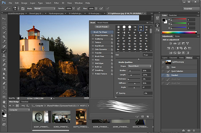 Adobe PhotoShop CS6 Extended screenshot