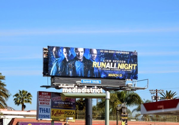 Run All Night billboard