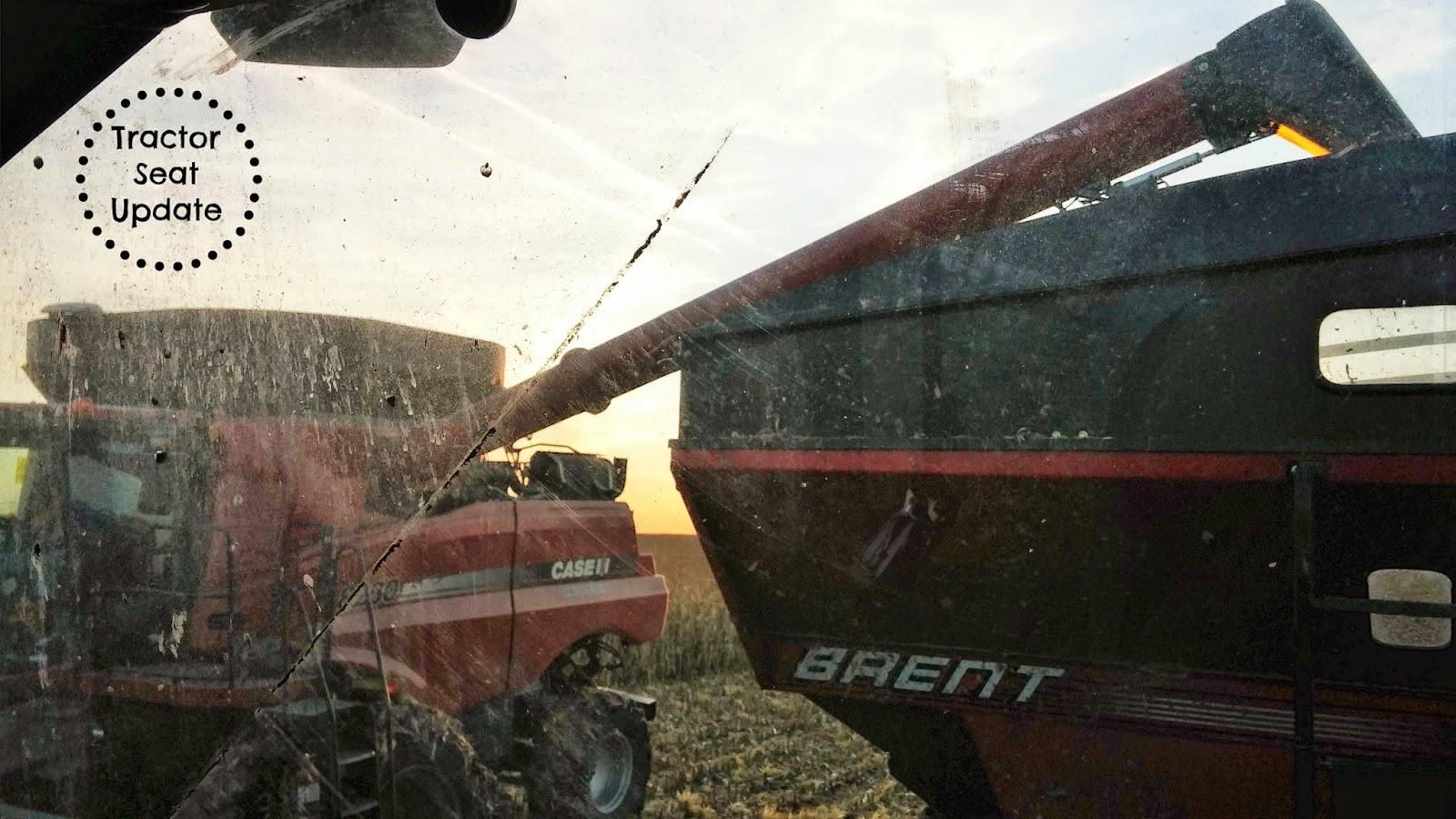 Tractor Seat Update