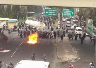 Manifestaciones y protestas en calles de México