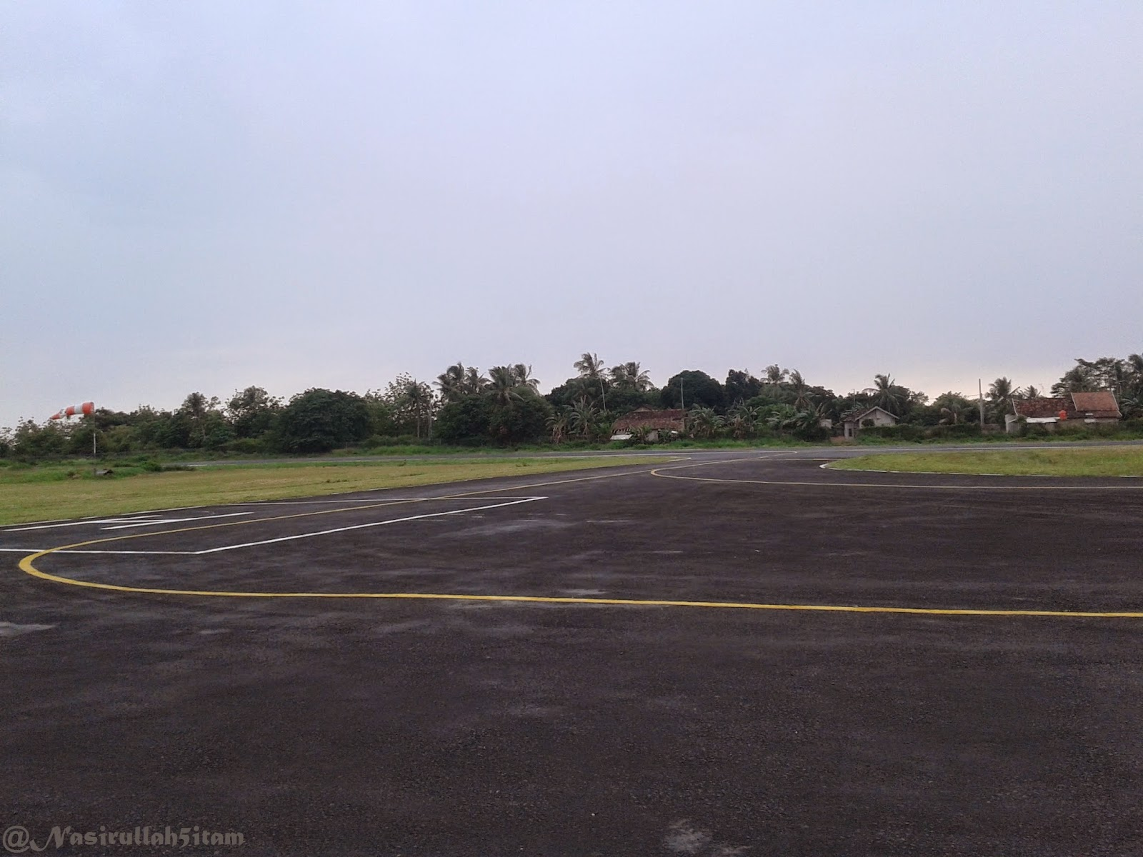 Runway bandara Dewadaru Karimunjawa