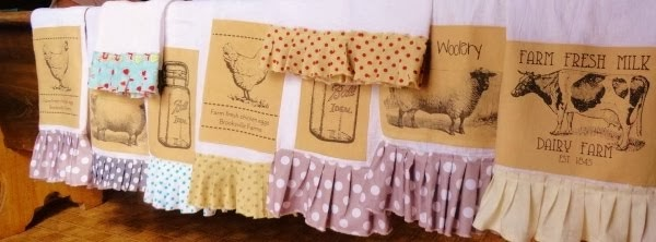 FARMHOUSE TEA TOWELS