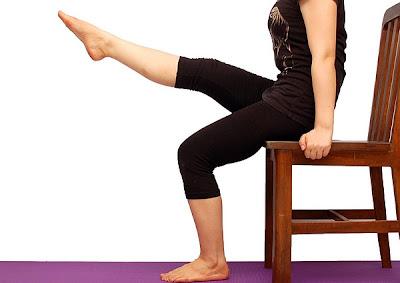Relajación muscular sentados