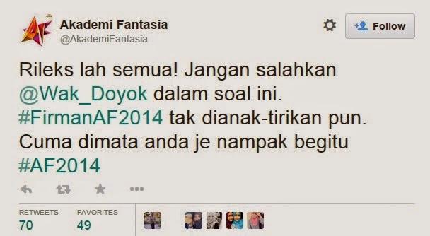 Wak Doyok AF2014