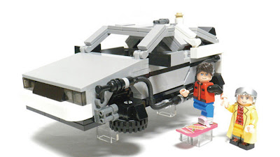LEGO CUUSOO Back to the Future Delorean Marty McFly & Doc