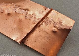 Oscarcrow Handmade Jewelry Beaten Copper Bracelet
