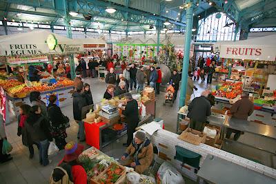 marché aux halles de Bagnères de Bigorre