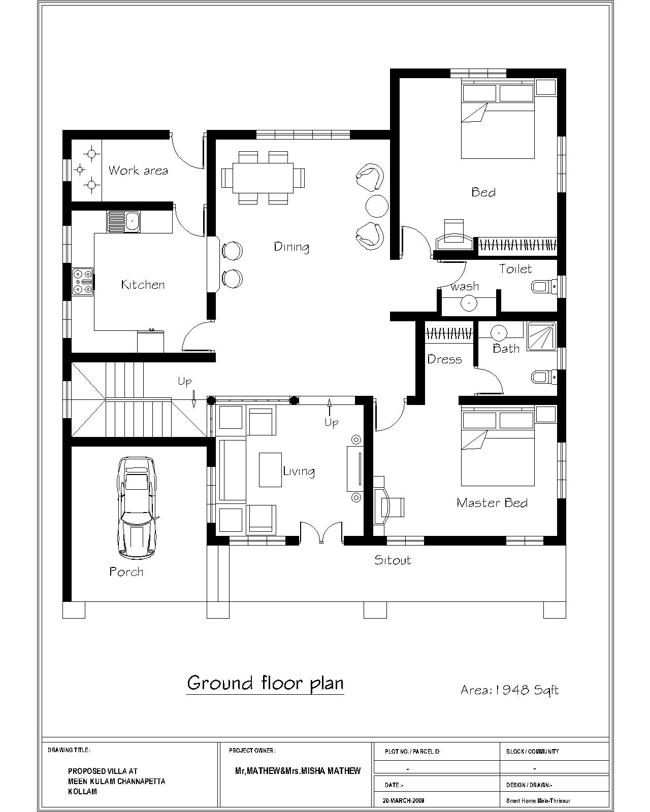 Three bedroom floor plans bedroom furniture high resolution Ground floor house plan