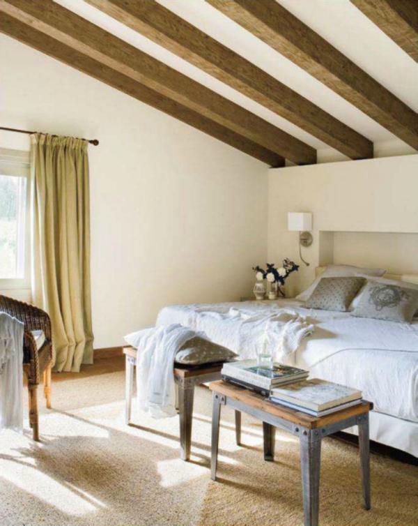 Hogares frescos primavera en el dormitorio renovaci n de colores tejidos y complementos - Interiorista girona ...
