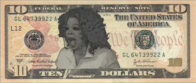 The Oprah $10 bill