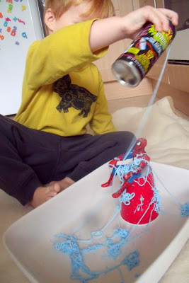 Superhero Sensory Play for Boys